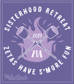 Zeta Tau Alpha Sisterhood T-shirts