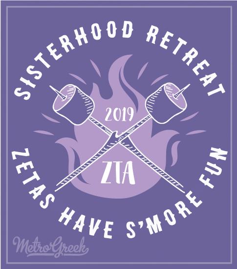 Zeta Tau Alpha Sisterhood T-shirts