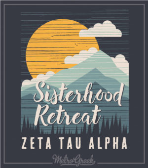 Zeta Tau Alpha Sisterhood Retreat T-shirt