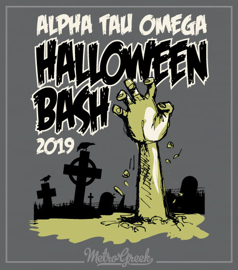 Alpha Tau Omega Halloween Shirt