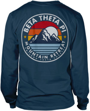 Beta Theta Pi Fraternity Retreat Shirt