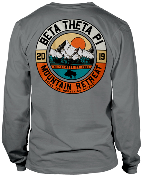 Beta Theta Pi Mountain Retreat Shirt