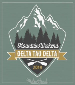 Delta Tau Delta Fraternity Weekend Shirt