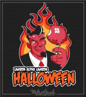 Devil Halloween Candy Apple Shirt