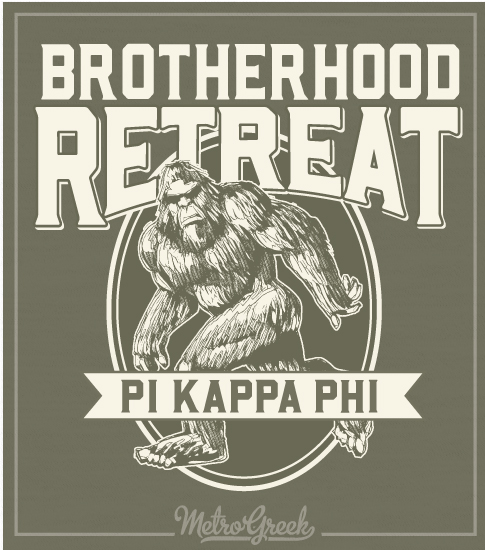 Big Foot Fraternity Brotherhood T-shirt
