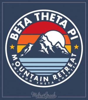 Beta Theta Pi Mountain Retreat Shirt