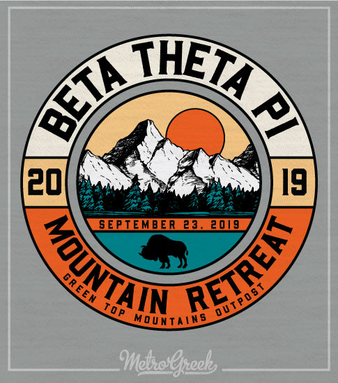 Fraternity Mountain Retreat Shirt