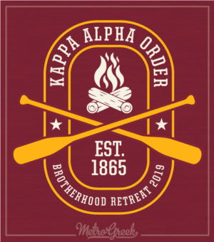 Kappa Alpha Fraternity Retreat Shirt