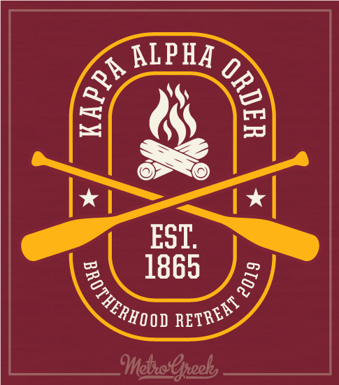 Kappa Alpha Fraternity Retreat Shirt