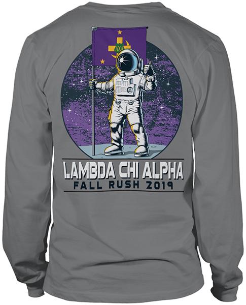 Lambda Chi Alpha Astronaut Rush Shirt