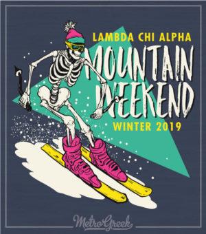 Lambda Chi Mountain Weekend Shirt