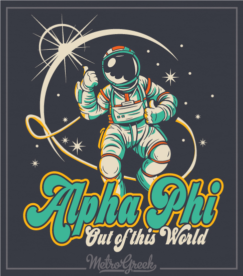 Alpha Phi Out of this World Shirt