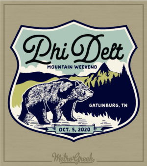 Phi Delt Mountain Retreat Shirt