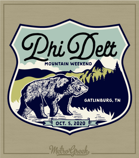 Phi Delt Mountain Retreat Shirt