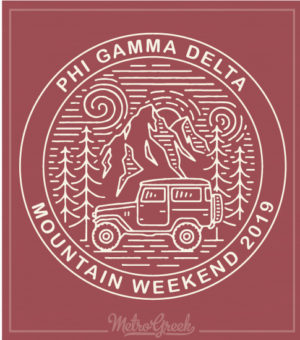 2706 Fiji Fraternity Weekend T-shirts