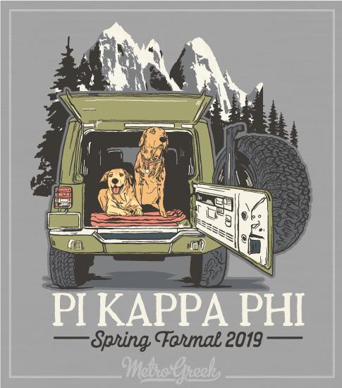 Pi Kappa Phi Fraternity Formal Shirt