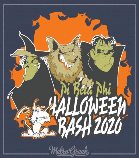 Pi Phi Halloween Bash Shirt