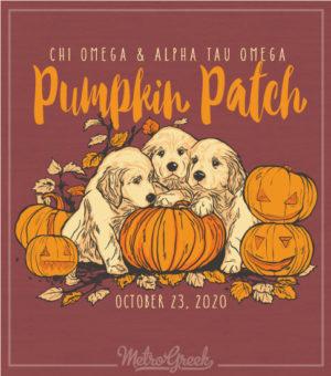 Chi Omega Pumpkin Patch Shirt