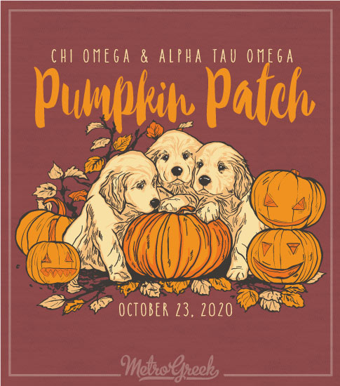 Chi Omega Pumpkin Patch Shirt