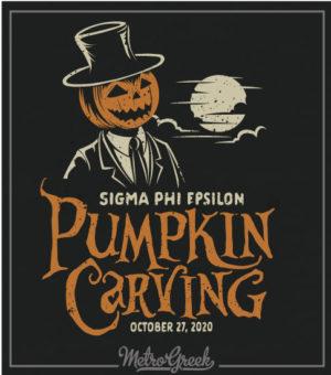 Sigma Phi Epsilon Pumpkin Shirt