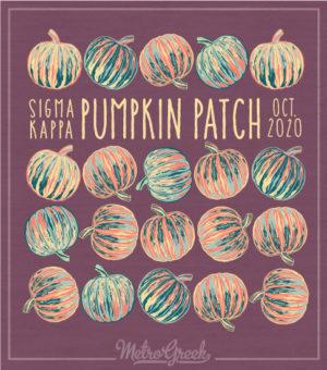 Sigma Kappa Pumpkin Patch Shirt