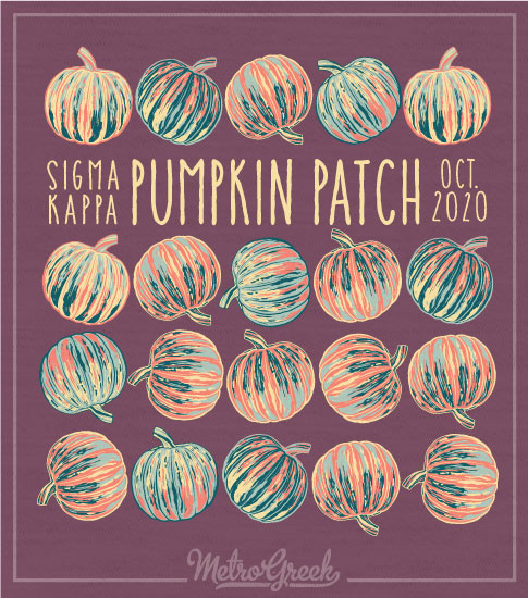 Sigma Kappa Pumpkin Patch Shirt