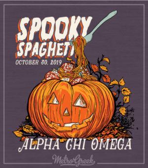 Spooky Spaghetti Pumpkin Shirt