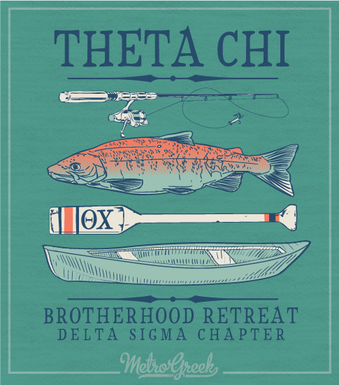 Theta Chi Brotherhood Retreat Shirt