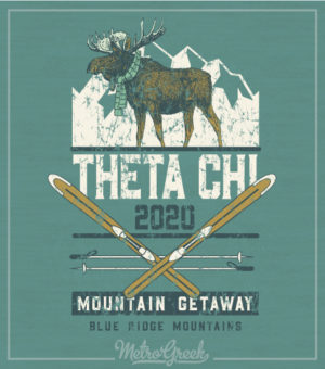 Theta Chi Brotherhood Mountain Retreat Shirt