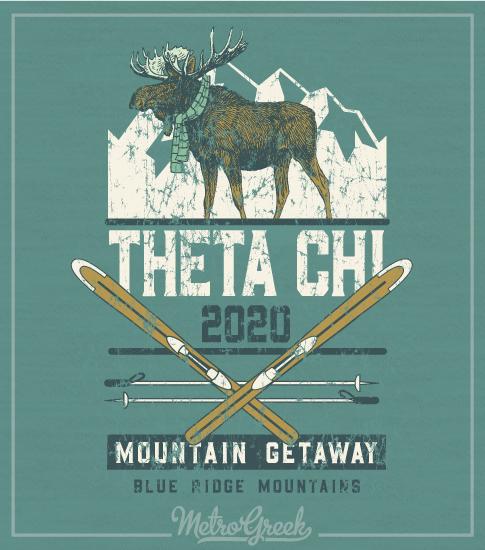 Theta Chi Brotherhood Mountain Retreat Shirt
