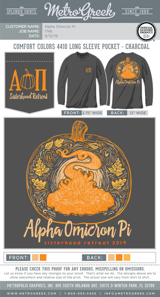 Sisterhood Pumpkin Retreat Shirt