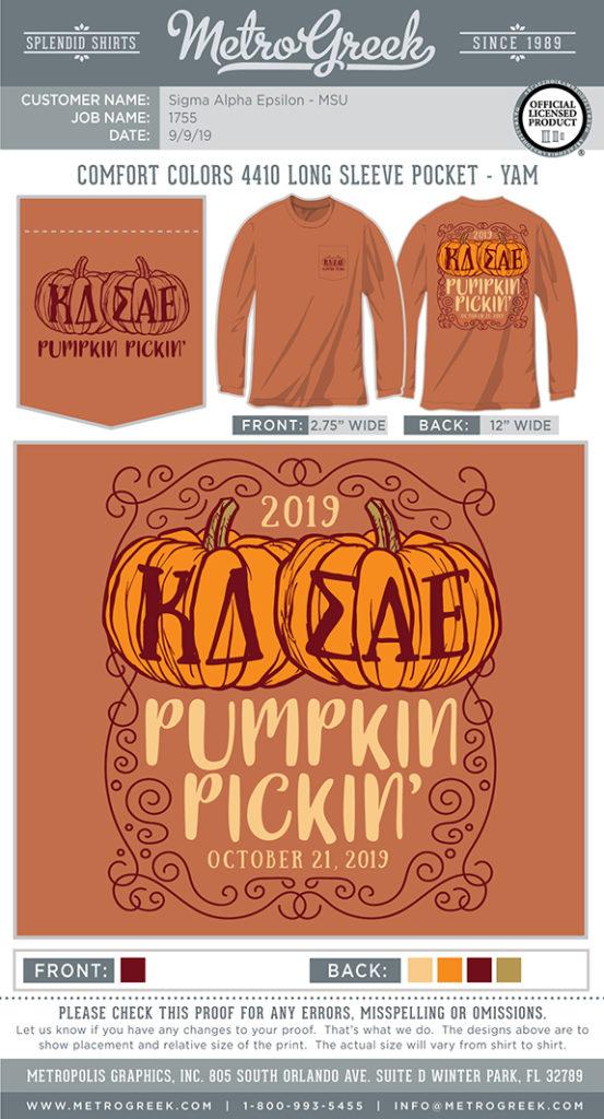 Pumpkin Pickin Mixer Shirt