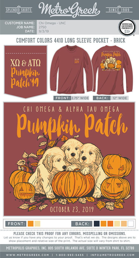 Puppies and Pumpkin Patch Shirt