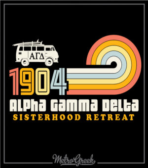 Alpha Gamma Delta Sisterhood Retreat Shirt