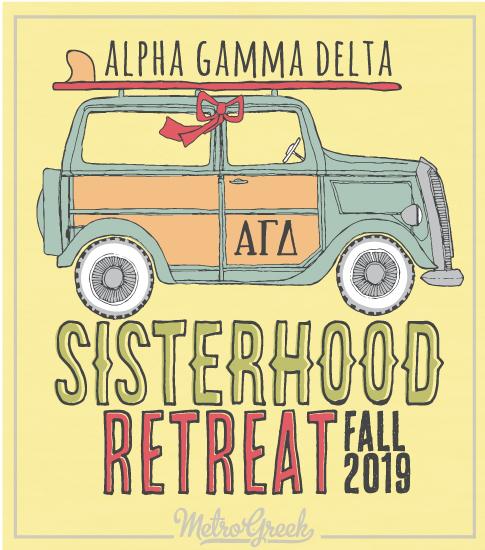 Alpha Delta Gamma Retreat Shirt