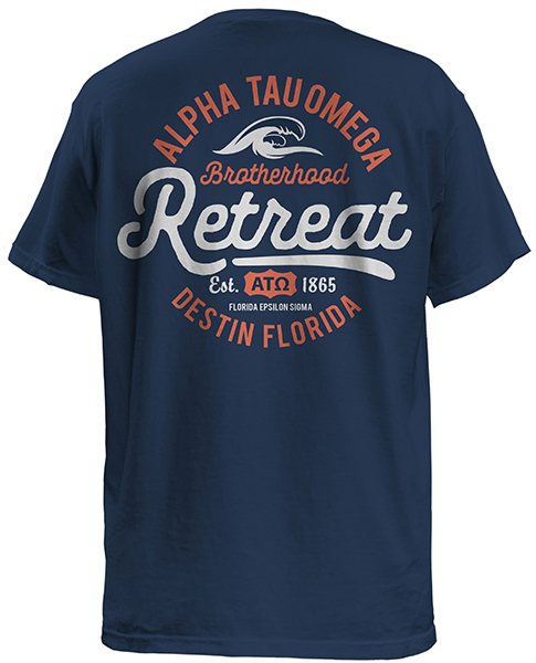 ATO Brotherhood Beach Retreat Shirt