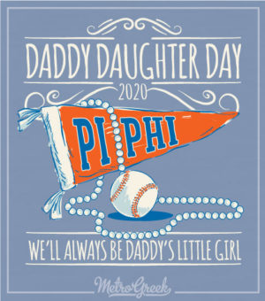 Daddy Daughter Shirt Pi Phi Pennant