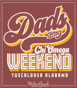 Dads Day T-shirt Chi Omega