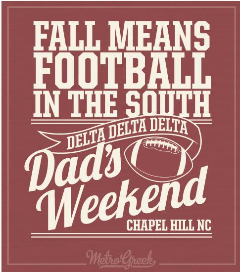Fall Means Football Shirt Tri Delta
