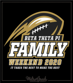 Family Weekend T-shirt Football