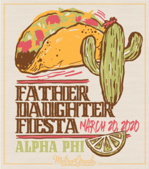 Father Daughter Day Taco Fiesta Shirt