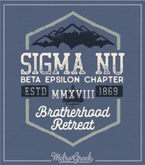 Fraternity Brotherhood Retreat Shirt Sigma Nu