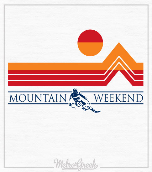 Fraternity Mountain Ski Weekend Shirt