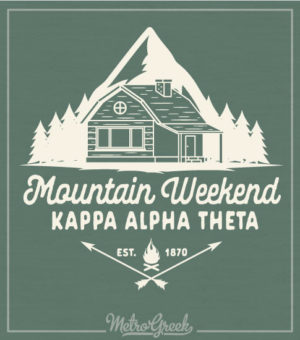 Kappa Alpha Theta Mountain Retreat Shirt