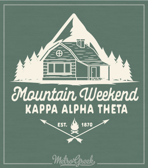 Kappa Alpha Theta Mountain Retreat Shirt