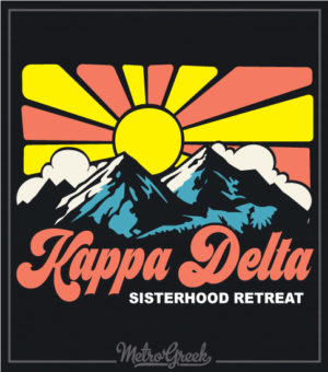 Kappa Delta Mountain Retreat Shirts