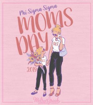 Phi Sigma Sigma Moms Day Shirt