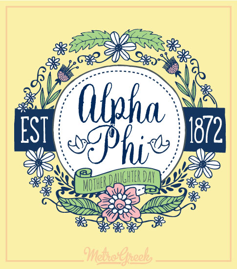 Mother Daughter Shirt Alpha Phi