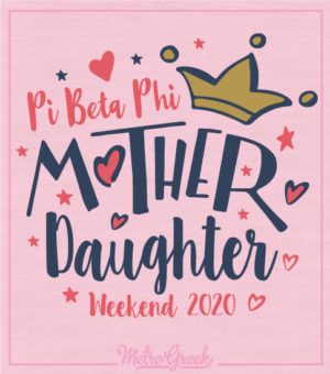 Mother Daughter Shirt Pi Phi