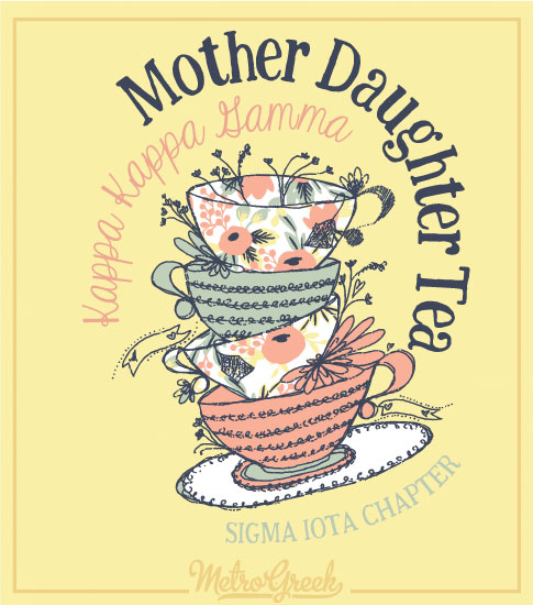 Mother Daughter Tea Kappa Kappa Gamma Shirt